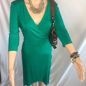 H&M Green Casual Dress
